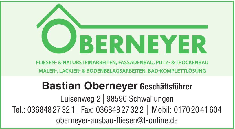 Bastian Oberneyer