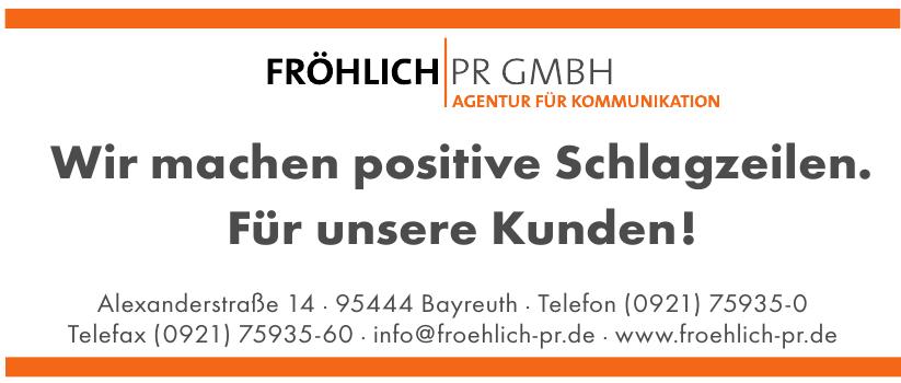 Fröhlich PR GmbH