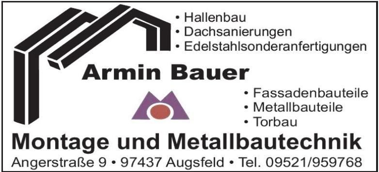 Armin Bauer Montage und Metallbautechnik