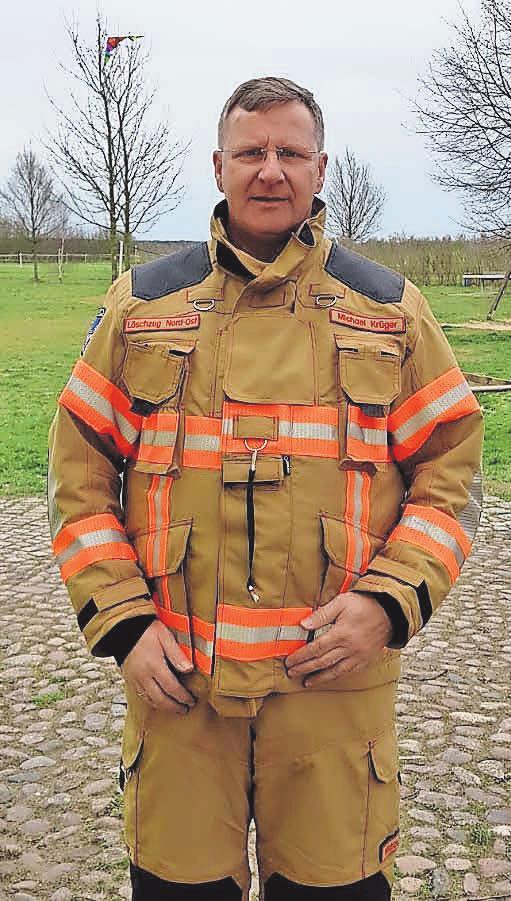 Michael Krüger, Zugführer des Löschzug 4, der künftig Feuerwache Nord-Ost heißt.