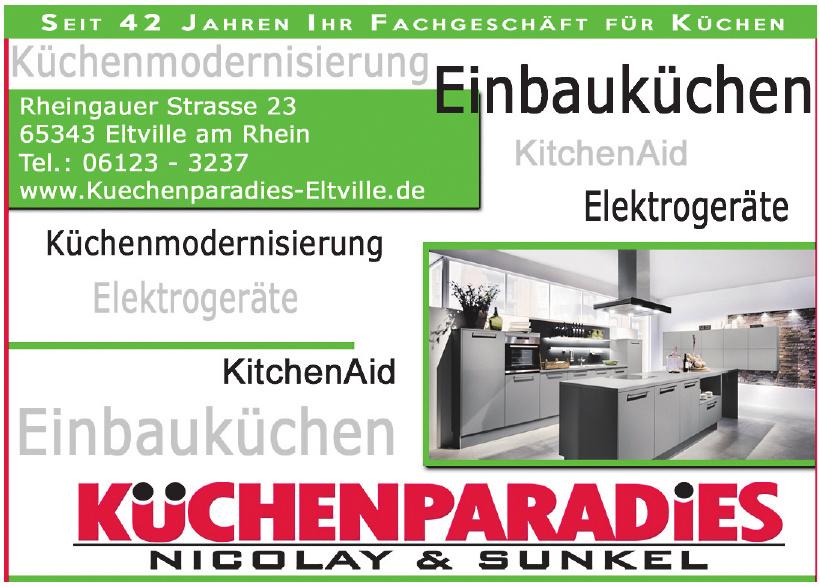 Küchenparadies Nicolay & Sunkel