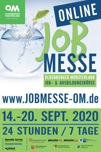 Jobmesse Oldenburger Münsterland Online