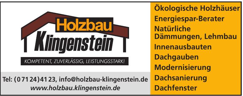Holzbau Klingenstein