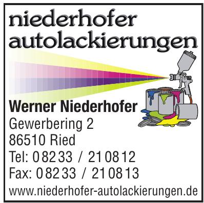 Werner Niederhofer