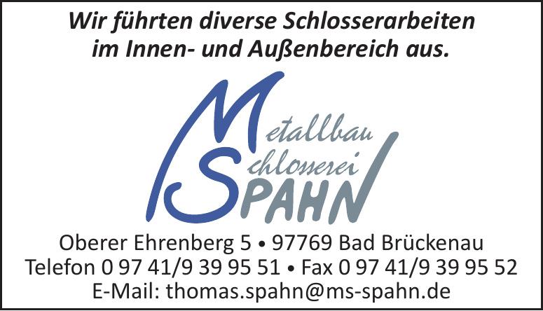 Spahn Metallbau - Schlosserei