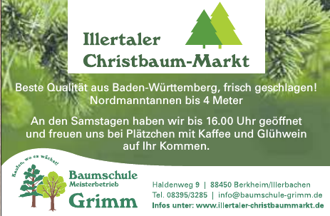 Baumschule Meisterbetrieb Grimm