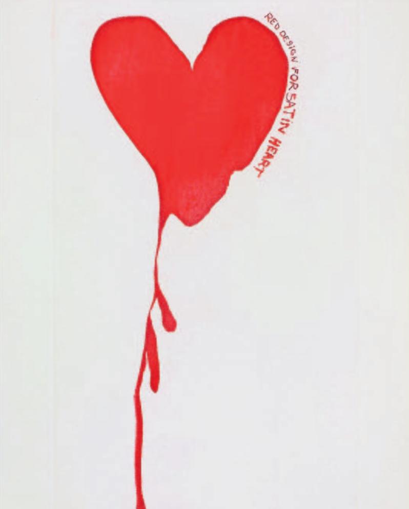 Jim Dine, The Picture of Dorian Gray, 1968, Lithografien und Radierungen (Detail), Graphische Sammlung des Fachs Kunstgeschichte der Universität Trier. Foto: VG Bild-Kunst, Bonn 2020