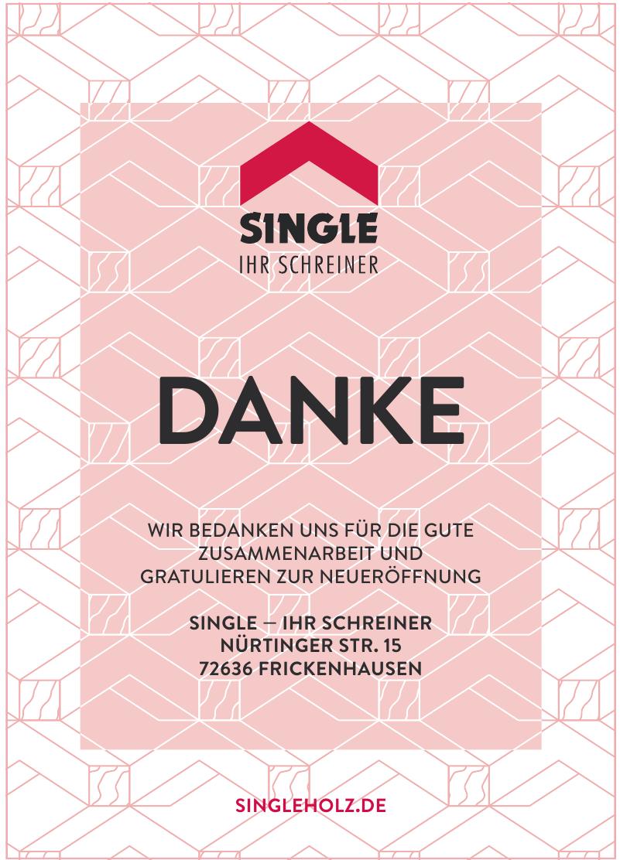 Single — Ihr Schreiner