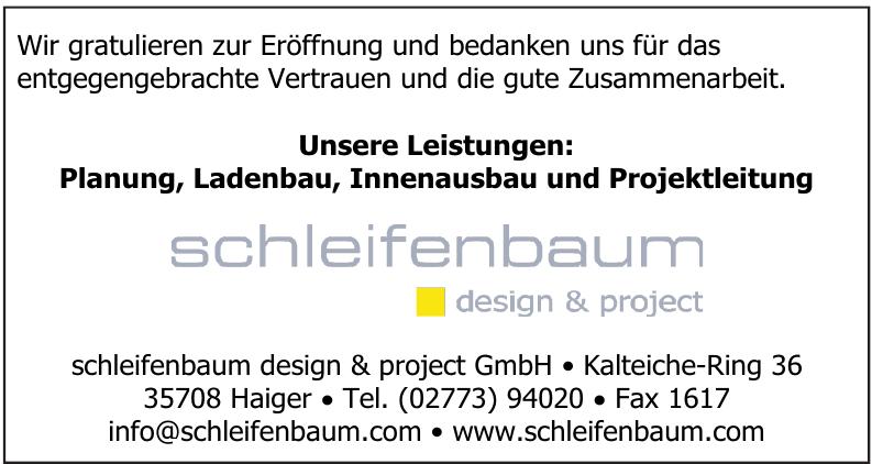 schleifenbaum design & project GmbH