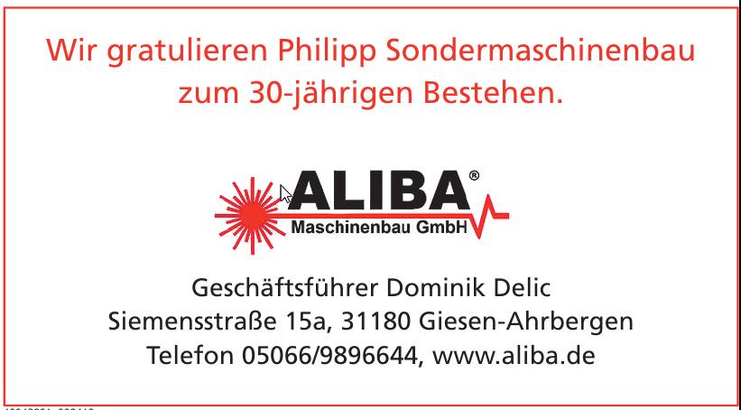 Aliba Maschinenbau GmbH
