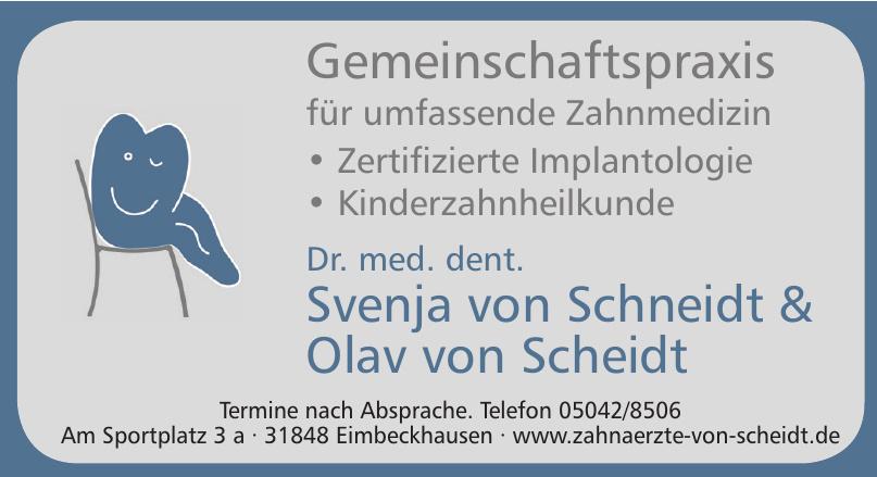 Dr. med. dent. Svenja von Schneidt & Olav von Scheidt
