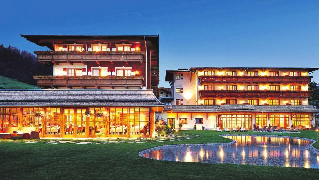Im Herzen der Tiroler Alpen. Foto: Ayurveda Resort Sonnhof