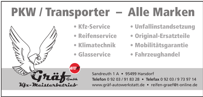 Gräf GmbH Kfz-Meisterbetireb