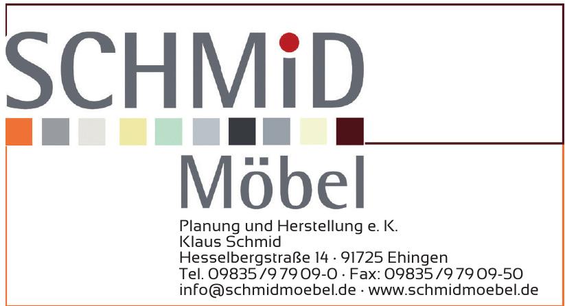 Schmid Möbel Planung und Herstellung e. K.