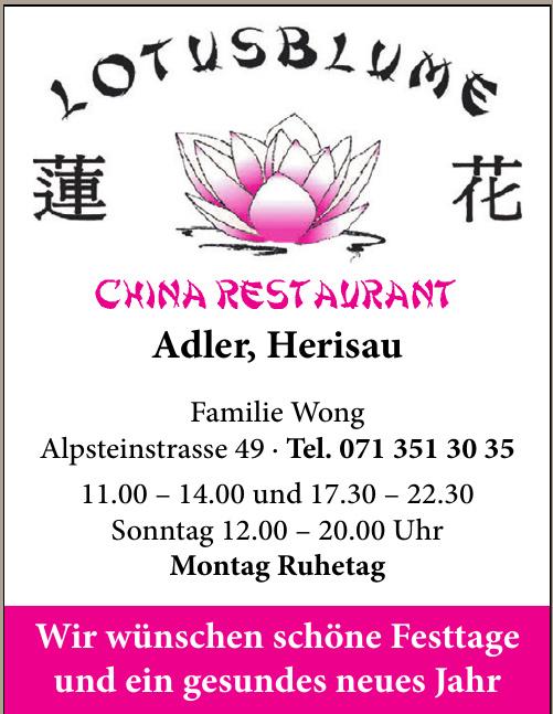 China Restaurant Familie Wong