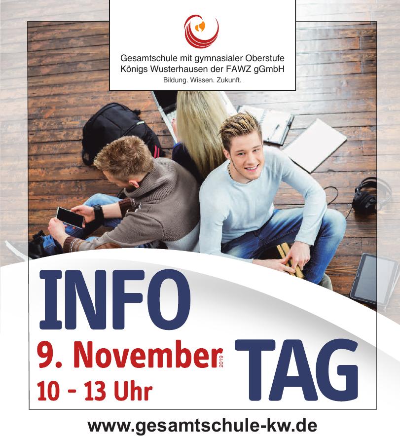 Gesamtschule mit gymnasialer Oberstufe Königs Wusterhausen der FAWZ gGmbH