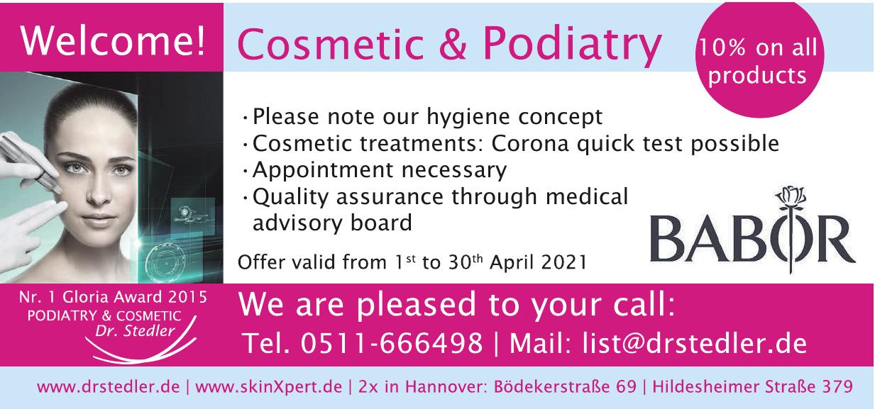 Dr. Stedler Podologie und Kosmetik