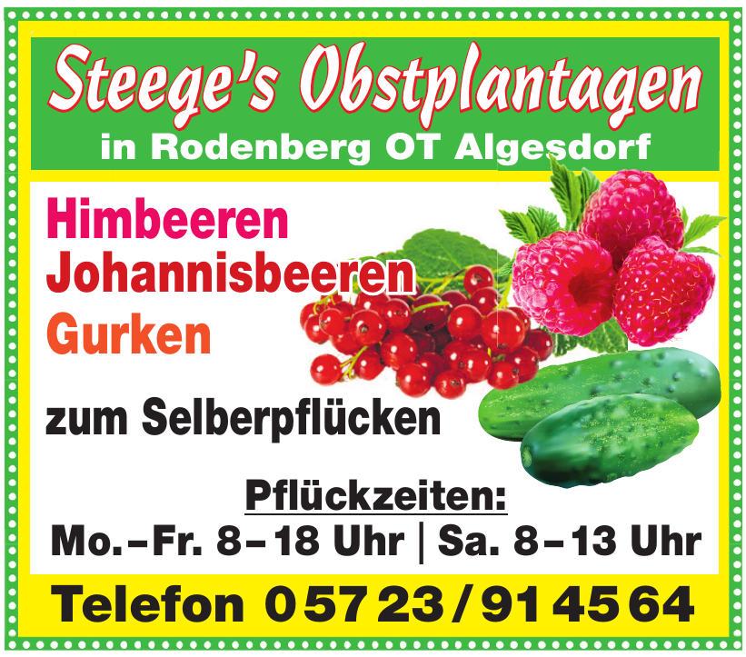 Steege's Obstplantagen