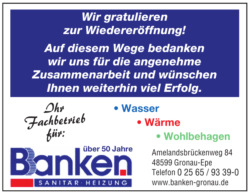 Banken Sanitär - Heizung