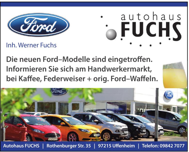 Autohaus Fuchs Inh. Werner Fuchs