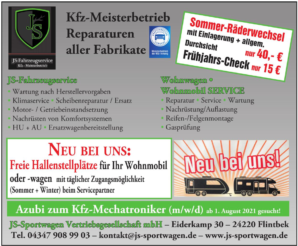 JS-Sportwagen Vertriebsgesellschaft mbH