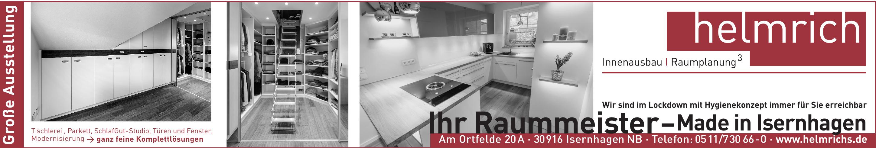 Helmrich's Innenausbau + Raumplanung