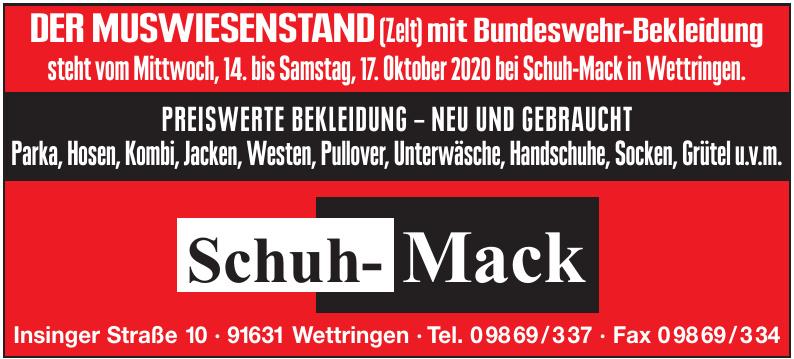 Schuh-Mack