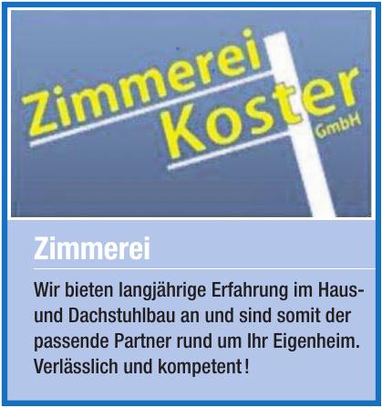 Zimmerei Koster GmbH