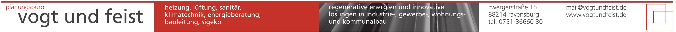 Planungsbüro Vogt und Feist