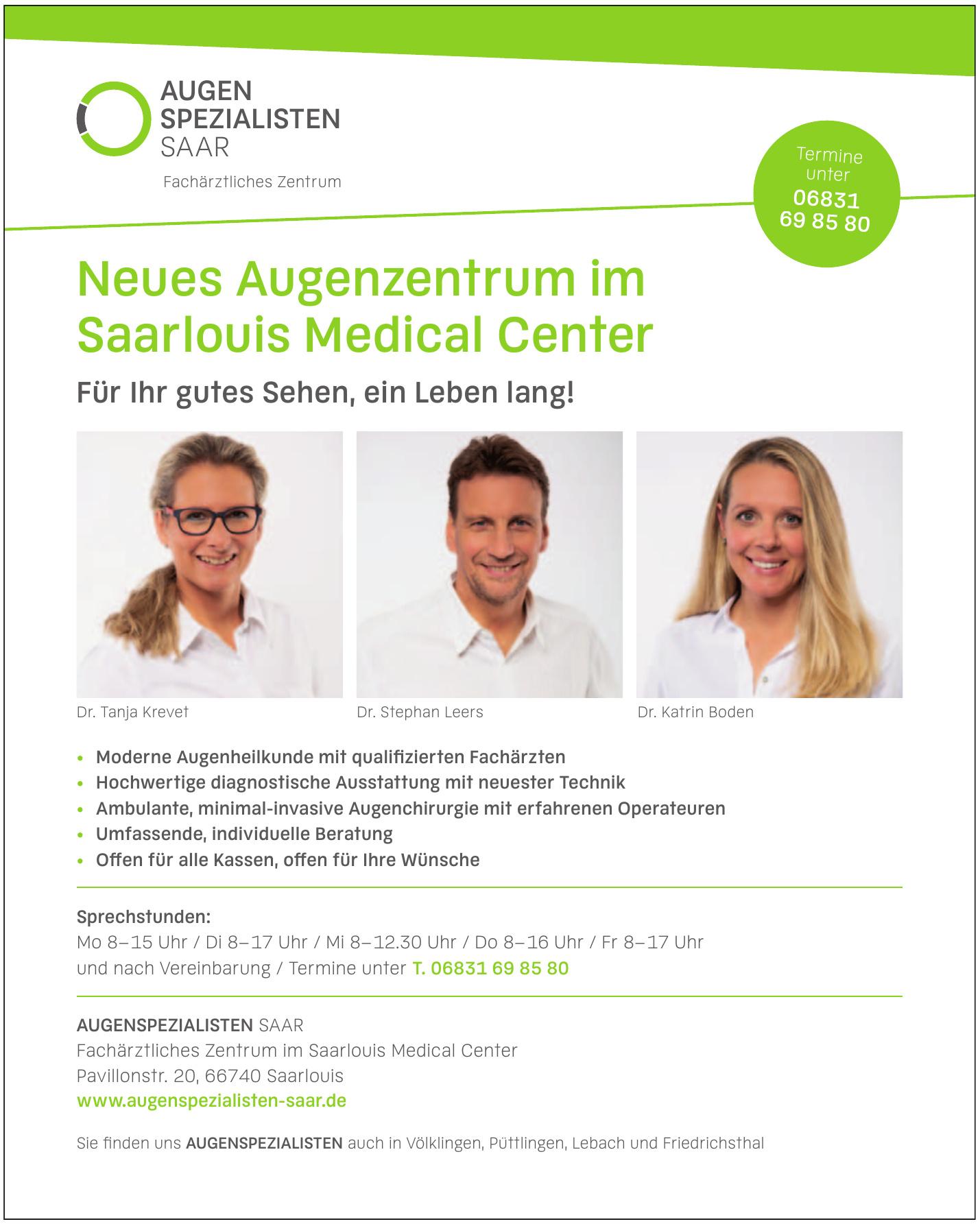 Fachärztliches Zentrum im Saarlouis Medical Center