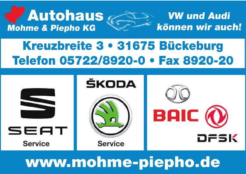 Autohaus Mohme & Piepho KG