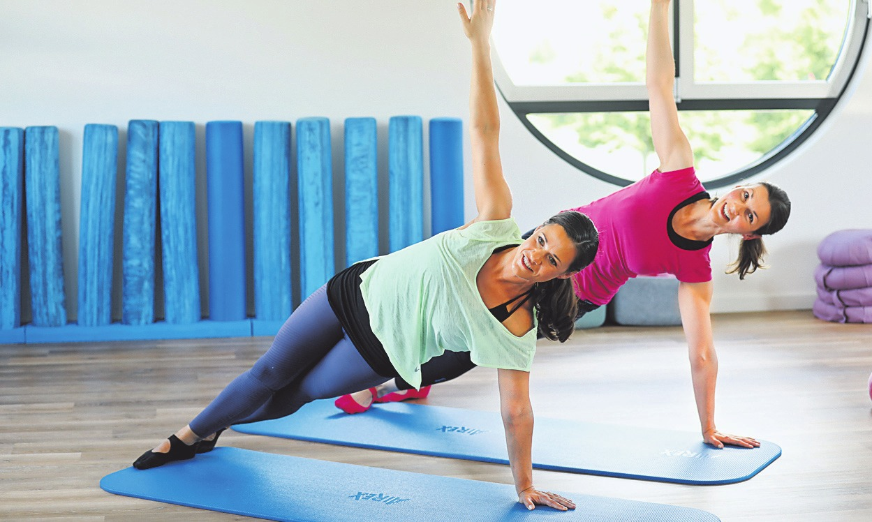 Pilates ist ein schonendes Ganzkörpertraining für jedermann und fördert Kraft und Beweglichkeit. Beim Duo.Balance beginnen in Kürze neue Kurse. FOTO: SARA JONEK