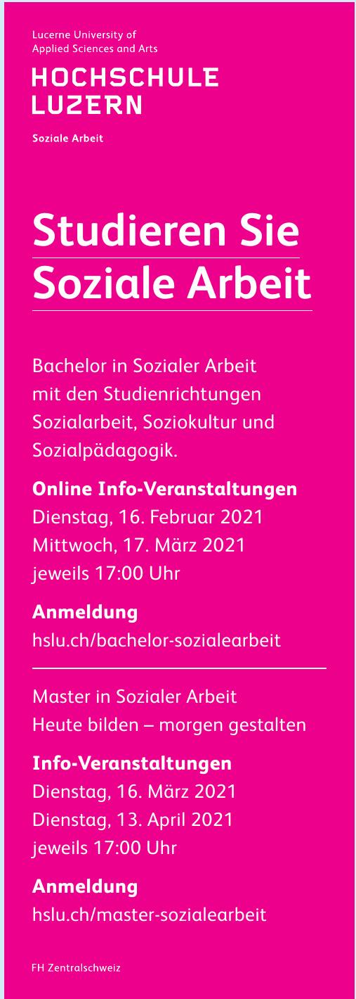 Hochschule Luzern  Soziale Arbeit