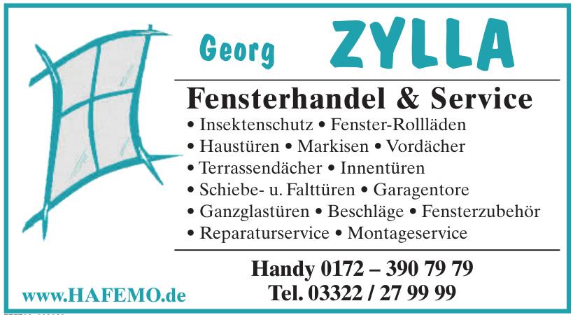 Georg ZYLLA, Fensterhandel & Service