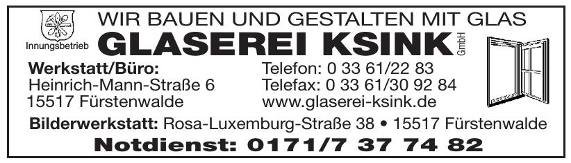 Glaserei Ksink GmbH