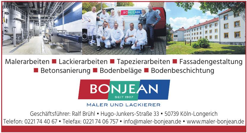 Bonjean Maler und Lackierer GmbH