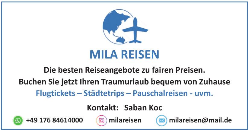 Mila Reisen