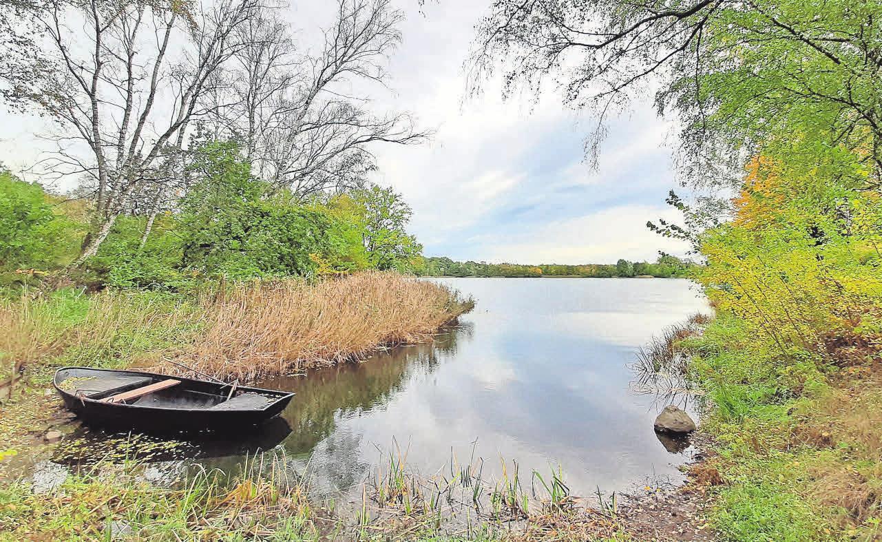 Der Blaue See ist bei den Lehrtern beliebt.