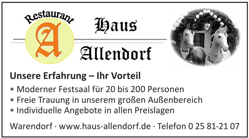 Haus Allendorf