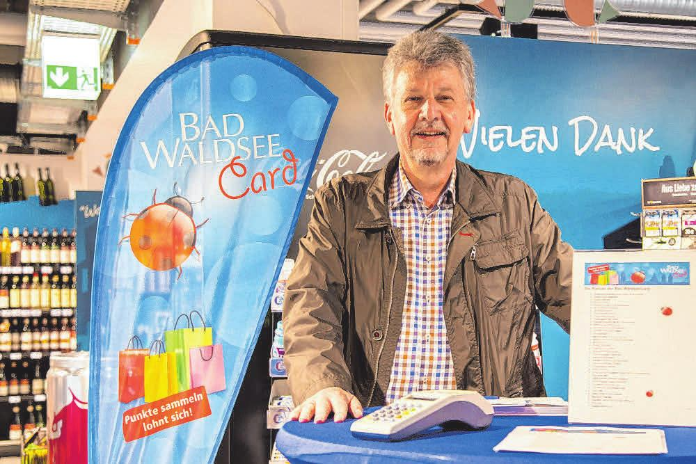Josef Traub, Vorstand der Bad WaldseeCard eG. FOTO: BAD WALDSEECARD