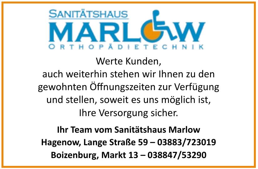 Sanitätshaus Marlow Orthopädietechnik