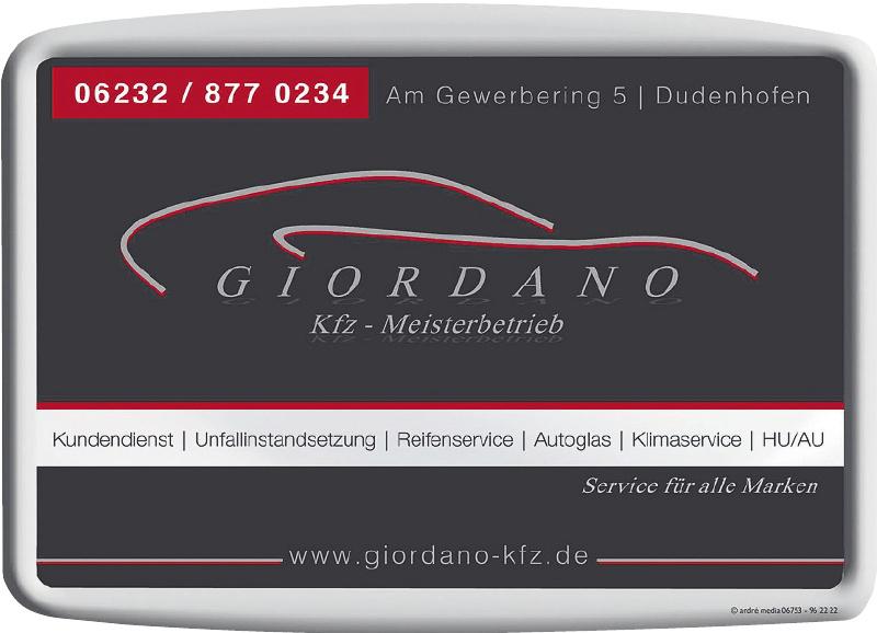 Giordano Kfz - Meisterbetrieb
