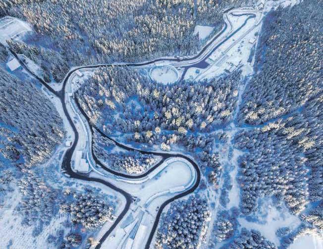 Der ENSO-Eiskanal ist eine der anspruchsvollsten Kunsteisbahnen der Welt. FOTO: EGBERT KAMPRATH