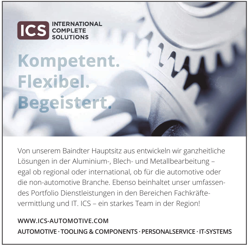 ICS International Complete Solutions