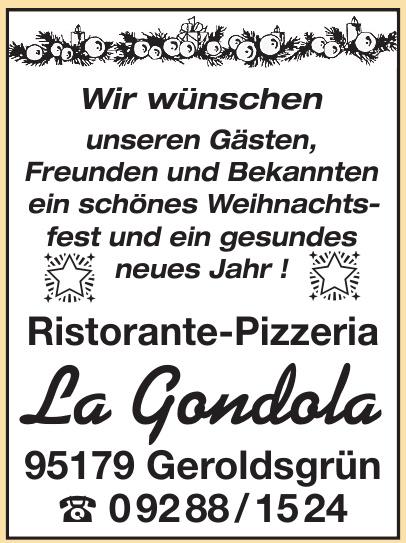 Ristorante-Pizzeria La Gondola
