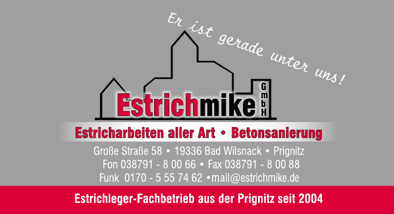 Estrichmike GmbH · Mike Glodzei