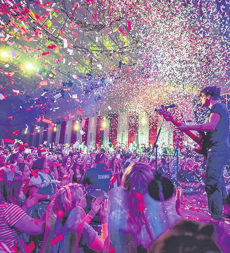 Kölsche Top-Bands sind bei der Prinzen-Garde zu Gast Foto: Prinzen-Garde