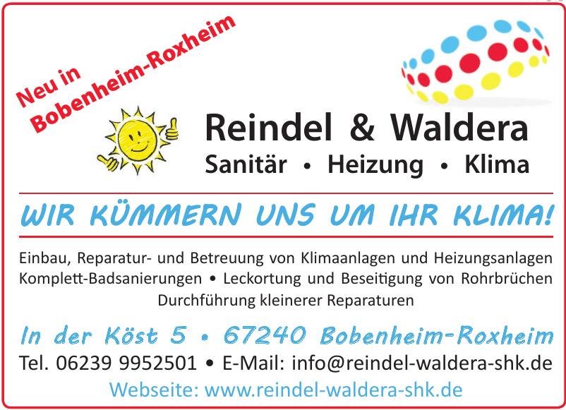 Reindel & Waldera Sanitär • Heizung • Klima