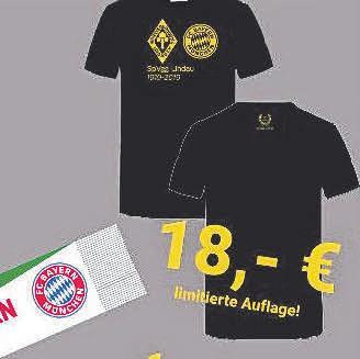 Für das Spiel gegen Bayern hat der Verein sogar Fanartikel produzieren lassen. Fotos: R. Halle/oh