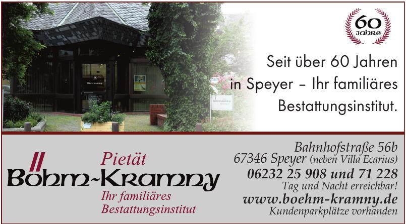 Bestattungsinstitut Böhm - Kramny